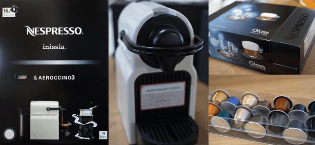エスプレッソマシンNespresso(ネスプレッソ)