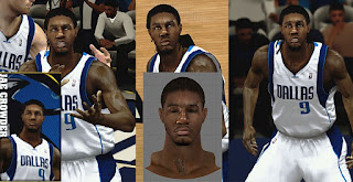 NBA 2K13 Jae Crowder Cyber Face Mod