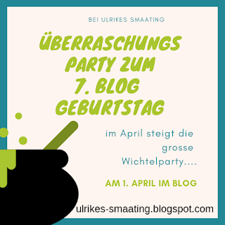 Lets Party! Mein 7. Blog Geburtstag....