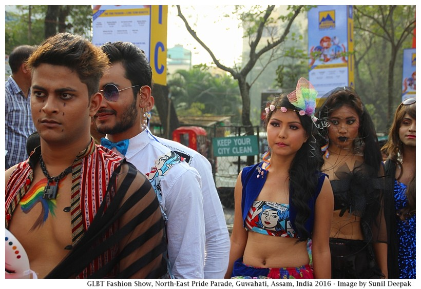 GLBT fashion show, NE Pride Parade, Guwahati, Assam, India - Image by Sunil Deepak