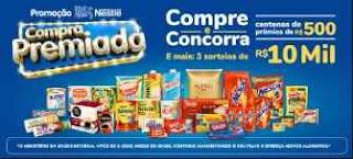 Promoção Compra Premiada Nestlé Cadastro Promoção
