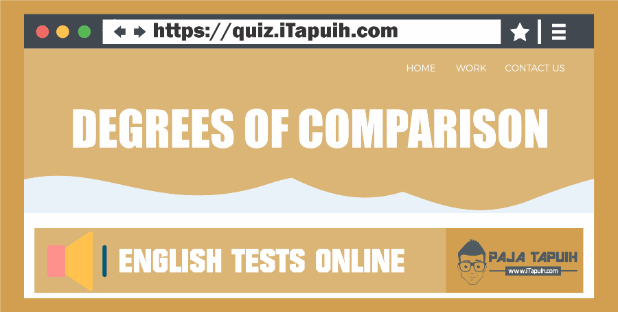Quiz: Degrees of Comparison