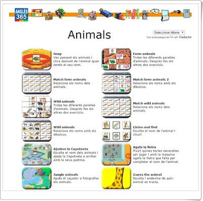 http://www.angles365.com/classroom/c12animals.htm