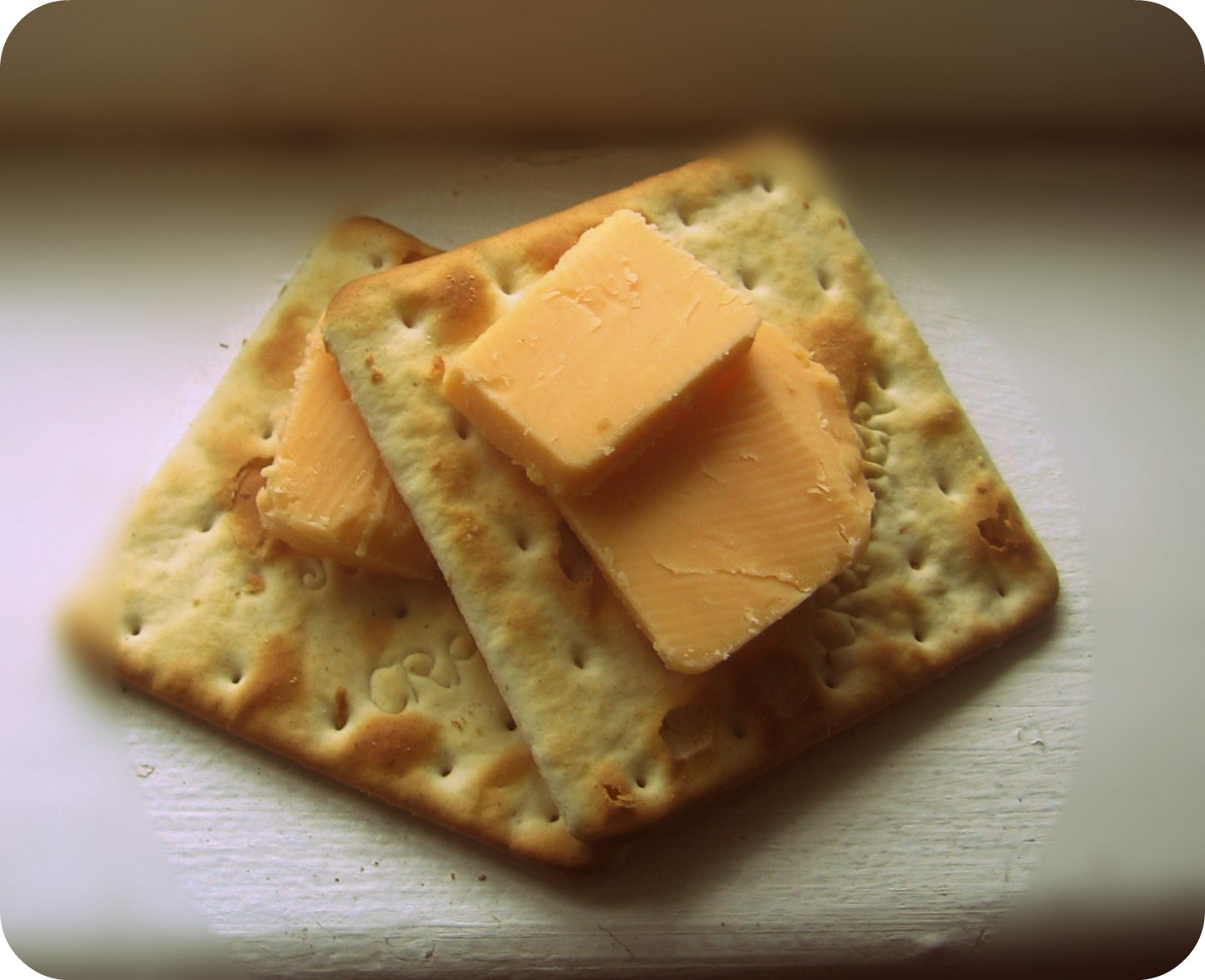 living awesomely: cheese and crackers, margie!*