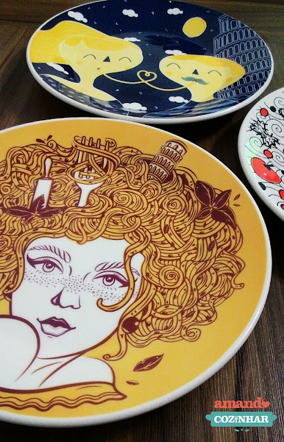 pratos Colecionáveis spoleto