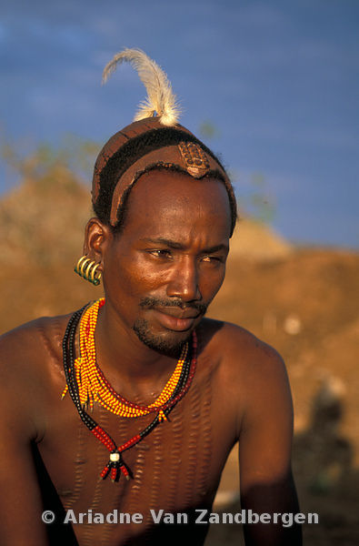 HAMER PEOPLE THE ETHIOPIAN TRIBE WITH THE FAMOUS BULL