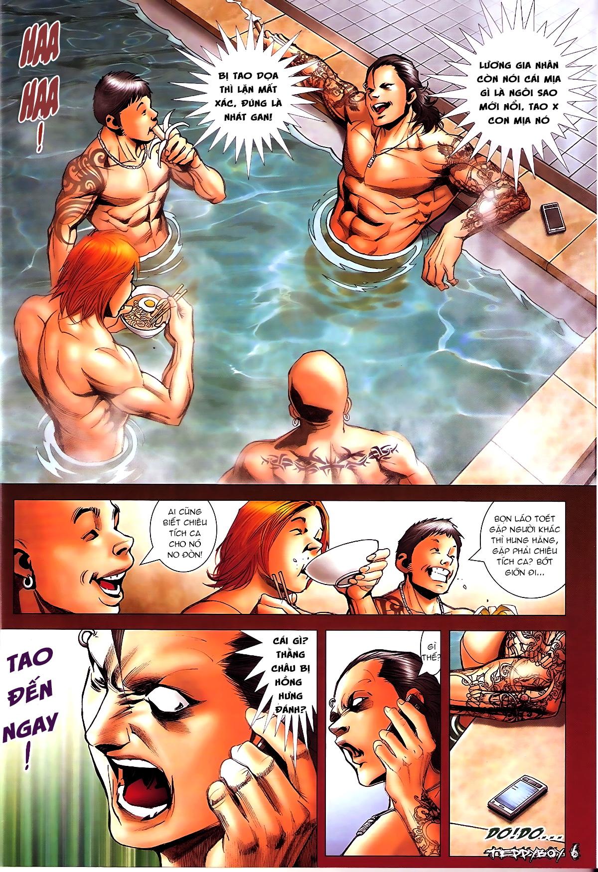 Người Trong Giang Hồ NetTruyen chap 1338 - Trang 5