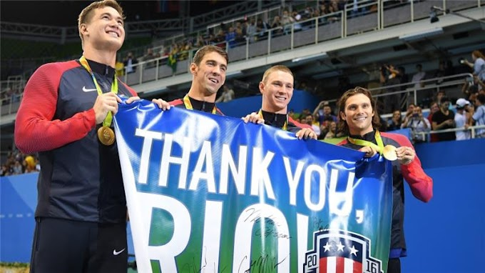 Rio 2016: MIchael Phelps signs off with one more gold