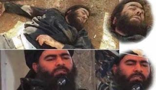 """عاجل لافتات تنعى مقتل زعيم تنظيم """"داعش"""" الارهابي أبو بكر البغدادي في تلعفر و الحويجة و الرقة ودير الزور و داعش تستنفر !"""