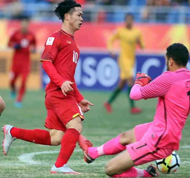 Video U23 Việt Nam - U23 Australia: Chiến thắng lịch sử, người hùng phút 72 2