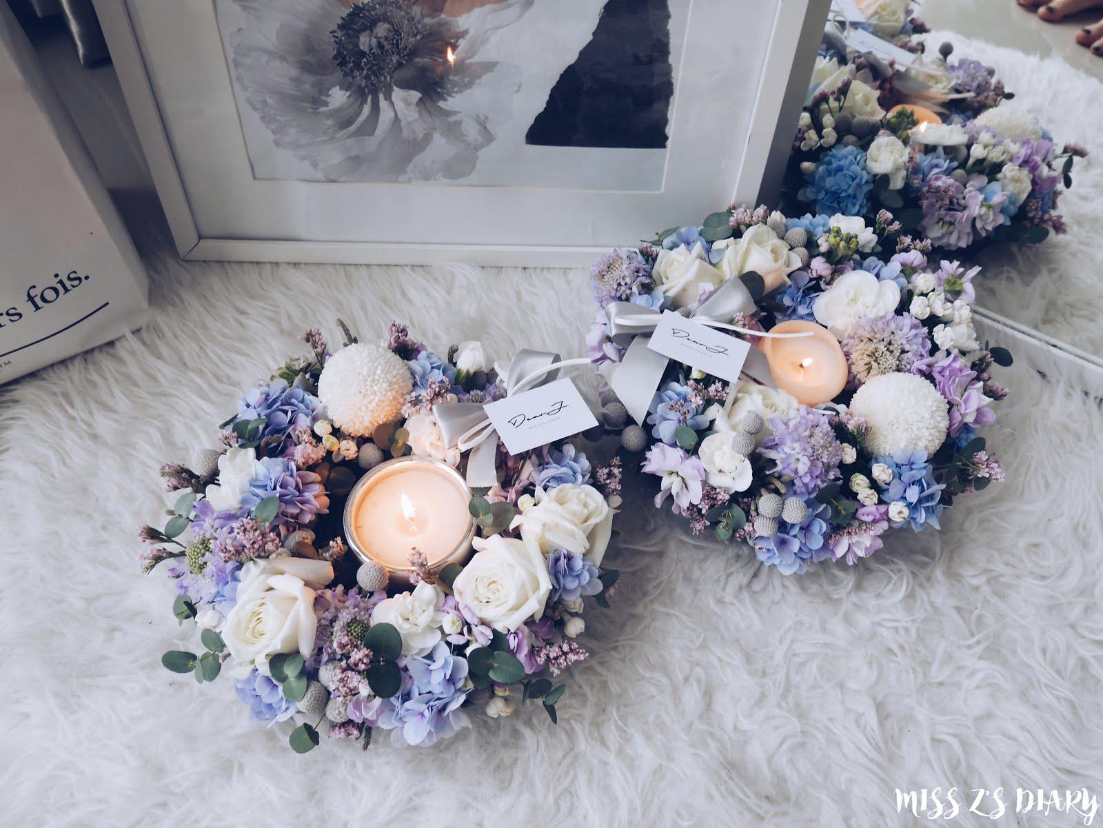 MS Z\'s DIARY: Floral Workshop KL   Dear J Hobby Class