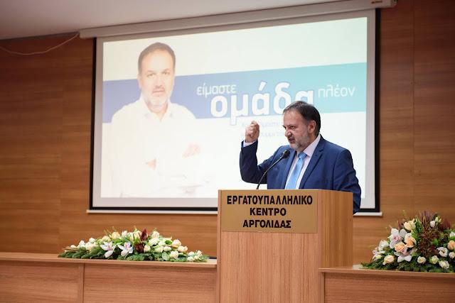 Ο Τάσσος Χειβιδόπουλος ανακοίνωσε την Δημοτική Κίνηση #Δυνατή Πόλη Ξανά