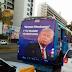No México, propaganda ofensiva contra Donald Trump é retirada dos ônibus