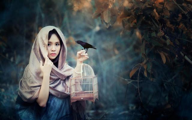 A menina e o pássaro encantado, de Rubem Alves