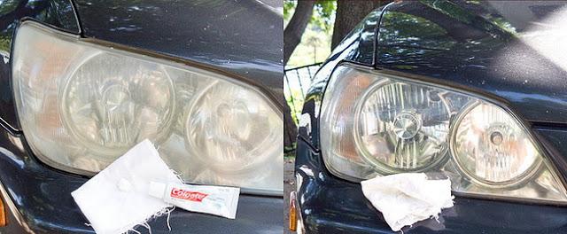 Cara Mengkilapkan Lampu Motor