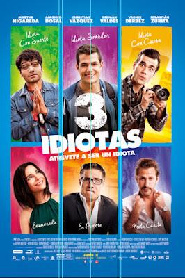 Sinopsis Film 3 Idiotas (2017)