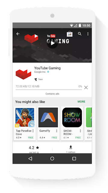 New Ad Placement in Google Play for Universal App Campaigns