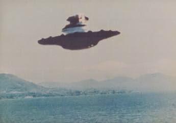 aku melihat UFO