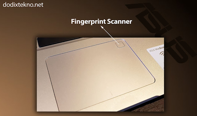 Fingerprint Asus VivoBook S15 S510UQ