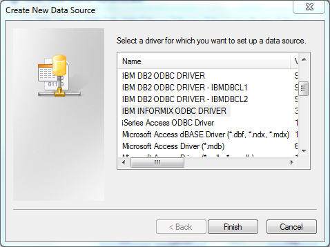 DSP Blog: Connecting Informix databases through SSIS