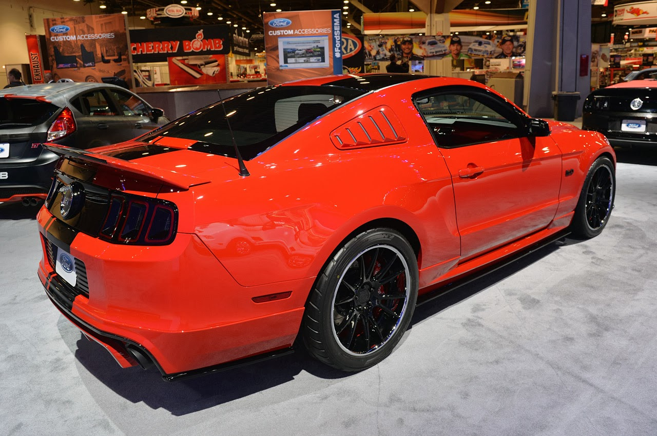 sema 2013 nitto tire 2014 ford mustang mustang news. Black Bedroom Furniture Sets. Home Design Ideas