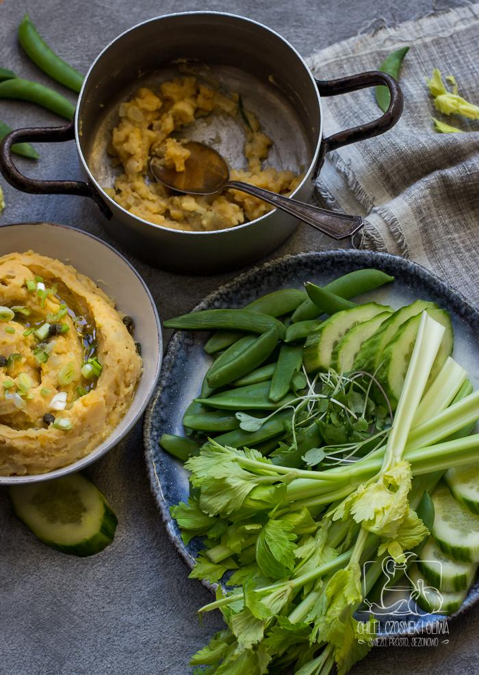 Pasta z grochu łuskanego na kanapki / Chilli, Czosnek i Oliwa