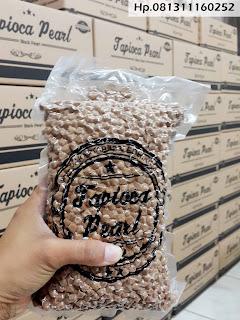 supplier tapioca pearl harga grosir termurah di indonesia