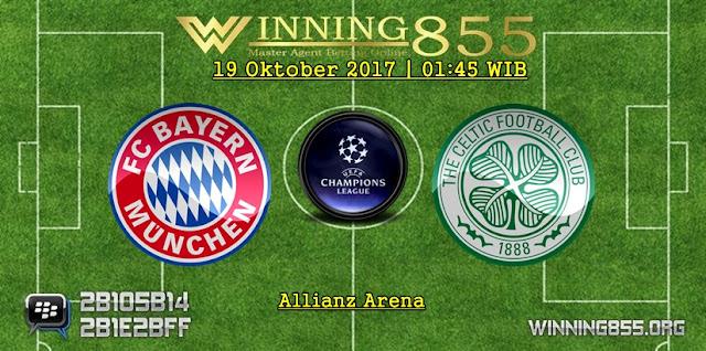 Prediksi Skor Bayern Munchen vs Celtic 19 Oktober 2017