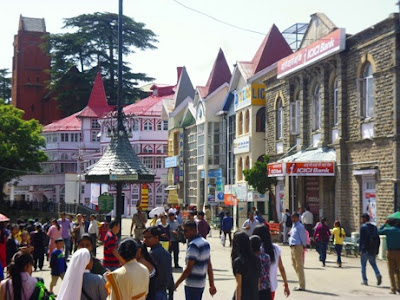scandal point shimla
