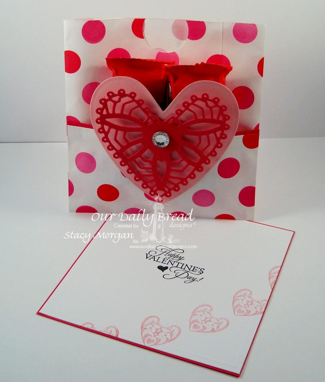 Stamps - Our Daily Bread Designs Bless Your Heart, ODBD Custom Ornate Hearts Die