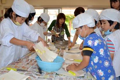 カレーパーティー!さぬき北小学校 さぬき北幼稚園