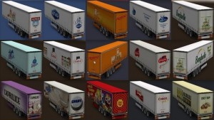 Variety of Food Trailers Pack
