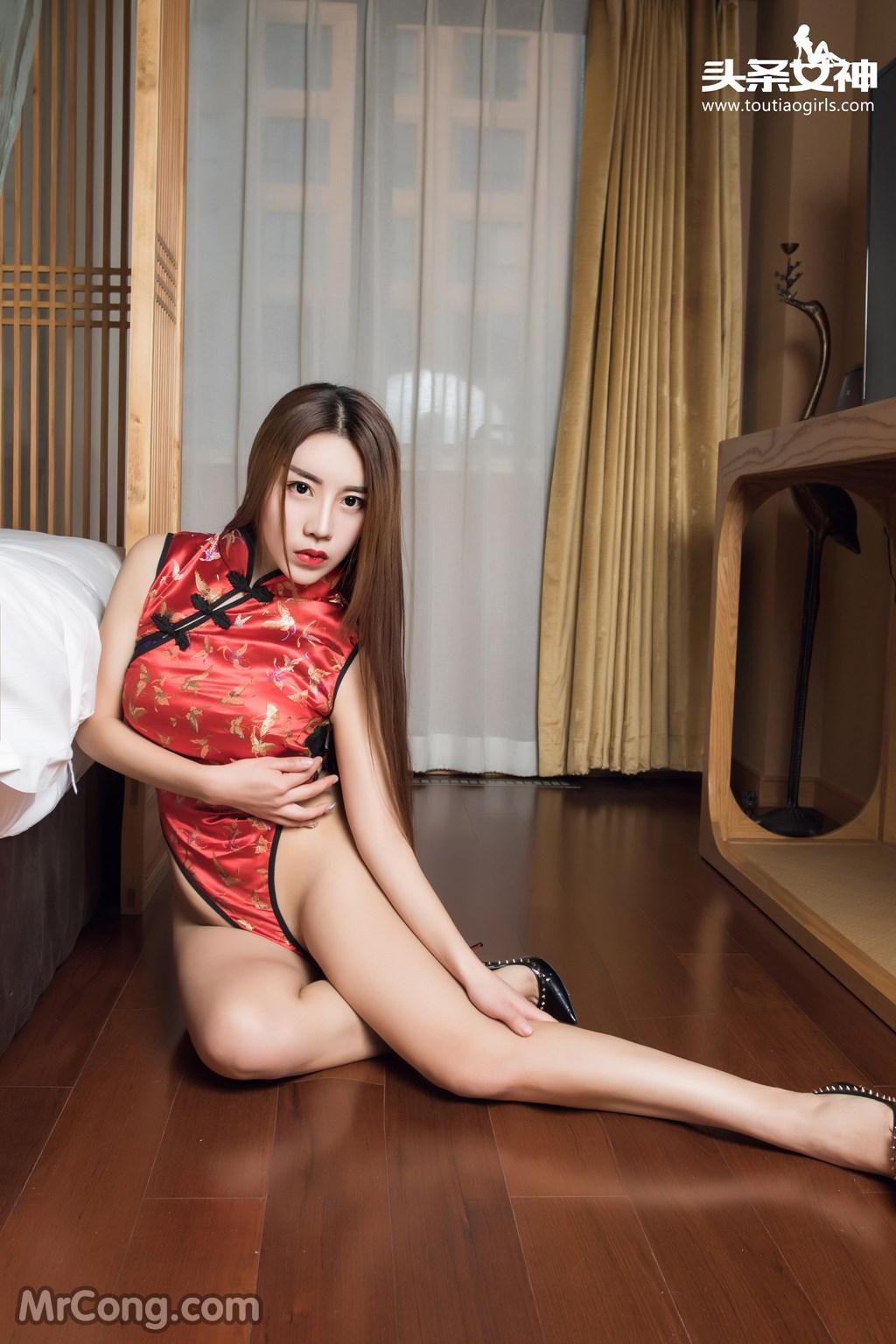 Image MrCong.com-TouTiao-2016-12-13-An-Su-Rui-005 in post TouTiao 2016-12-13: Người mẫu An Su Rui (安苏芮) (18 ảnh)