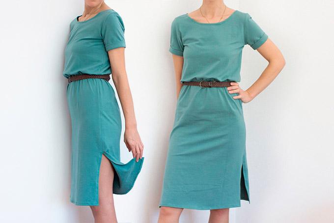 como-hacer-un-vestido-abertura-costados-manga-bajo-vuelto