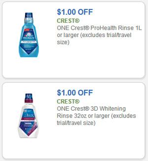 crest 3d whitening mouthwash coupon