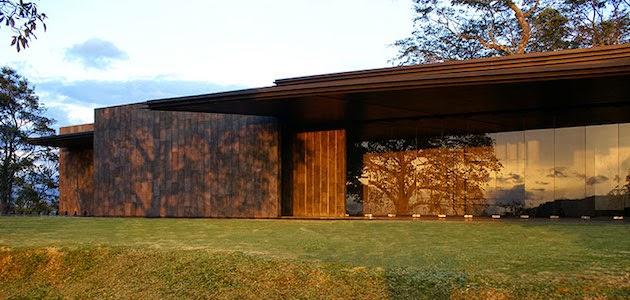 Estilo rustico casa rustica y moderna en costa rica for Casa moderna rustica