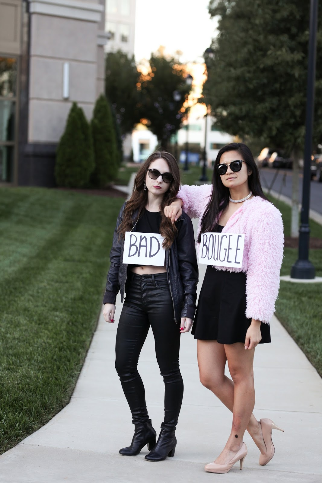 Last minute partner costume idea - Bad and Boujee