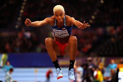 Yulimar Rojas ganó medalla de Oro