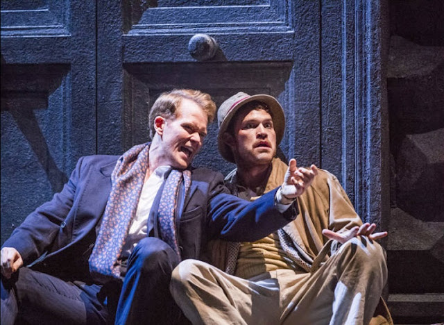 Duncan Rock, Brandon Cedel - Don Giovanni - Glyndebourne on Tour - photo Tristram Kenton