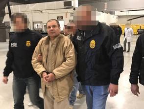 """""""El Chapo"""" Guzmán comparecerá hoy mismo en un tribunal para lectura de cargos"""