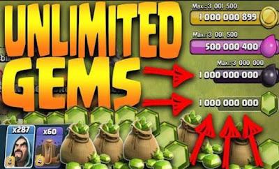 Aplikasi Cheat Game COC