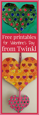 Free printables for Valentine's Day from Twinkl