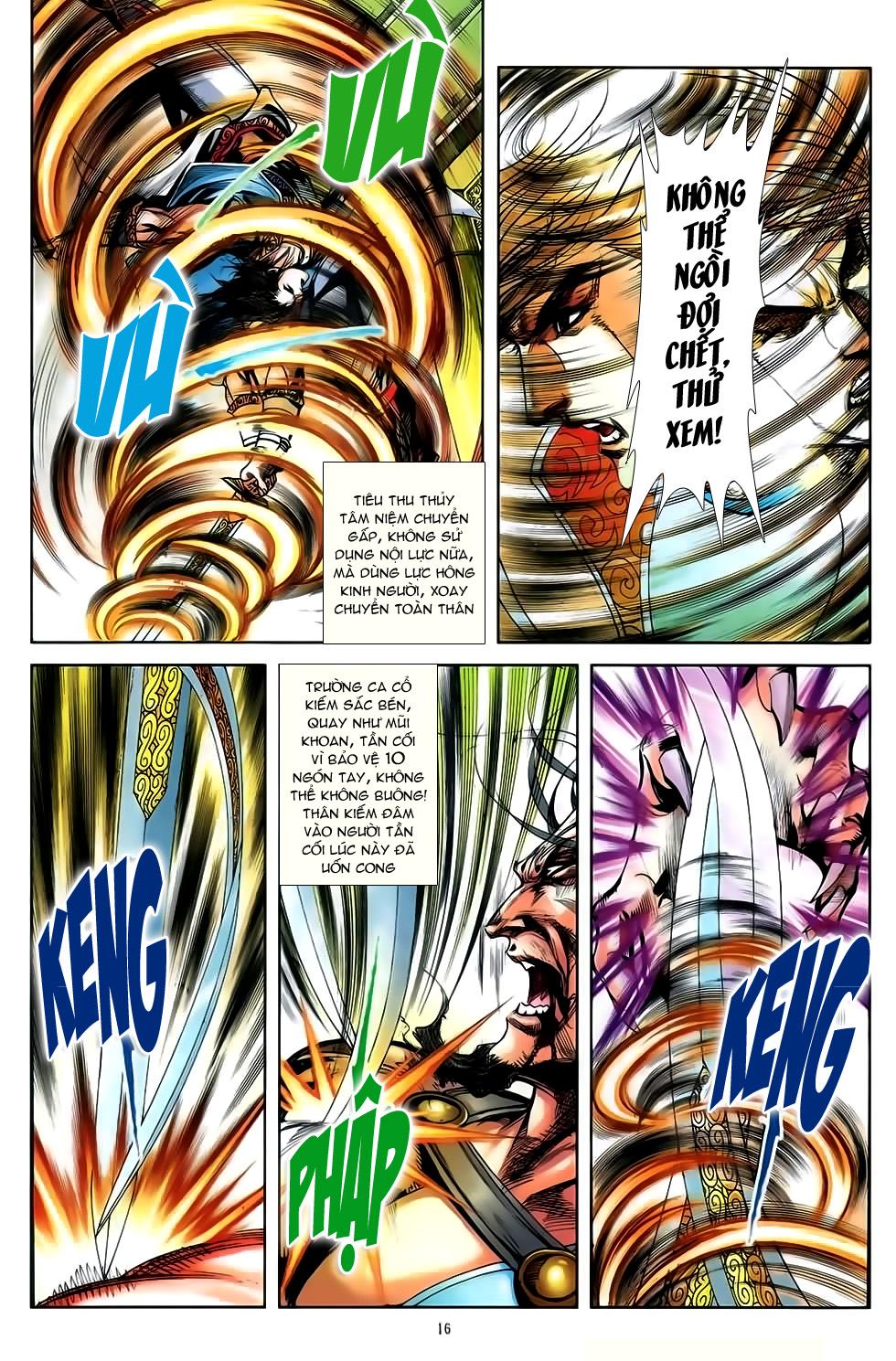 Đại Hiệp Truyền Kỳ (Thần Châu Hậu Truyện) chap 50 - Trang 15