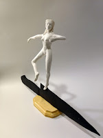 ballerina on knife edge