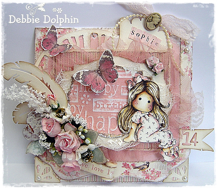 Magnolia Cards By Debbie: Happy Birthday Sophie