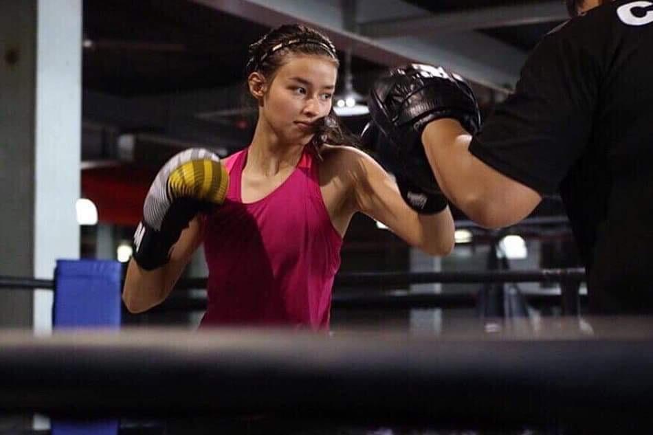 Liza Soberano's physical training for Darna