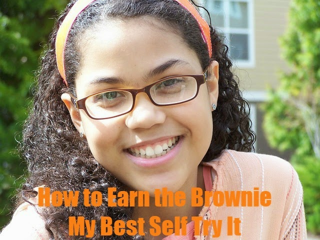 Meeting plans on how to earn the Brownie Be Your Best Self Try It