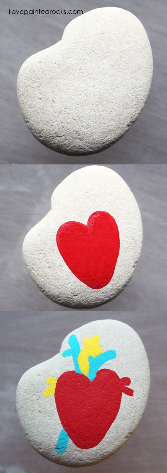 Easy rock painting ideas for Valentine's Day. I love all the painted rock tutorials in this post! Learn how to paint a human heard inspired heart on a rock. #ilovepaintedrocks #rockpainting #paintedrocks #valentinescraft #easycraft #kidscraft #rockpaintingideas #polkadot
