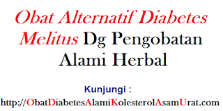 Obat Alternatif diabetes melitus dg pengobatan alami herbal