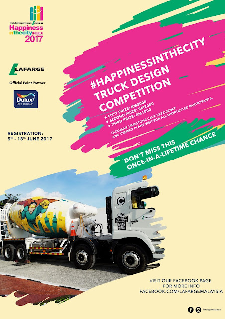 #happinessinthecity : LAFARGE TRUCK DESIGN COMPETITION!